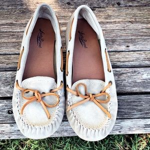 Lucky Brand Suede Moccasins 10M